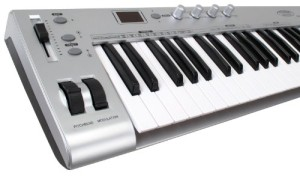 Test du clavier Midi USB